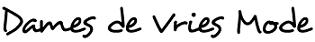 Dames de Vries Mode Logo